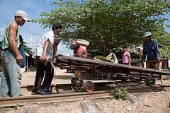 Building the bamboo train