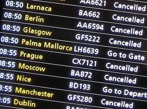 Travel insurance for cancelled flights