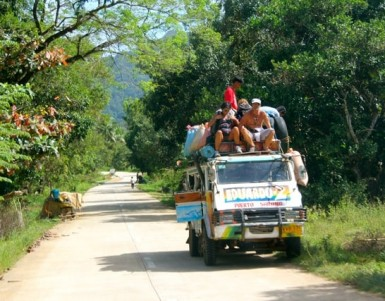 Transportation options in the Philippines