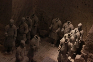 The Terracotta Army Warriors