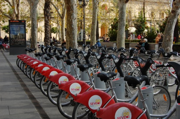 Renting a bike with Sevici is extremely easy