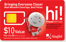 prepaid sim card for tourist