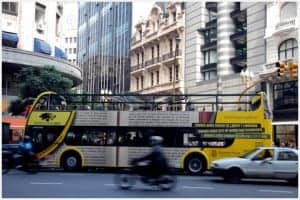 Bus tours of Buenos Aires