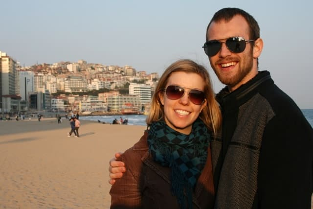 Arienne and Tristan in Busan