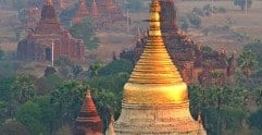 Our itinerary for Myanmar (Burma)