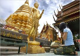 Doi Suthep in Northern Thailand