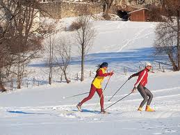 Cross country skiing in Zell am See