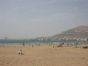 beach in morrocco
