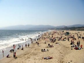 Places to get a tan in southern California this summer
