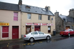 Sandras backpacker hostel in Thurso