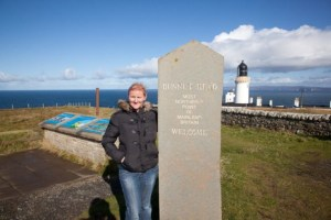At Dunnet Head in Scotland