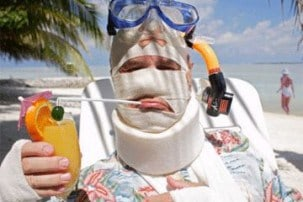 Travel insurance - What to do if you're injured on holiday