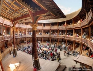 Shakespeares Globe in London