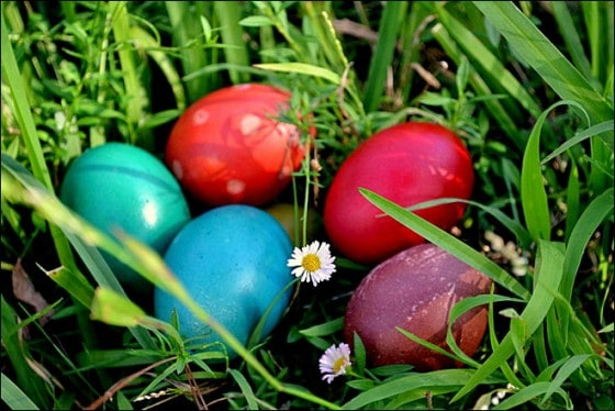 Easter holidays in England