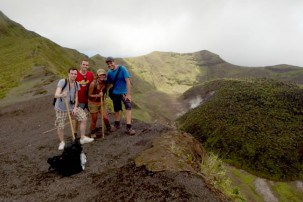 La Soufriere Volcano trek in St Vincent & The Grenadines