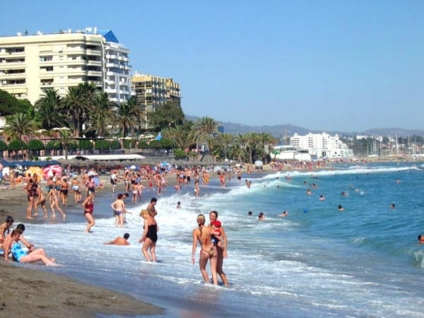 Marbella beach - costa del sol road trip