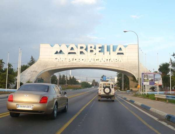 costa del sol road trip to Marbella