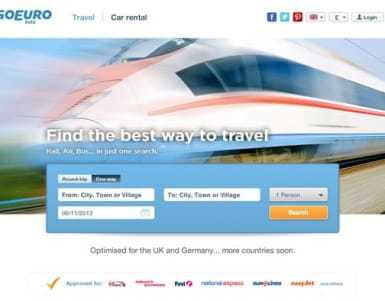 GoEuro review - Is it good for cheap transport in Europe?