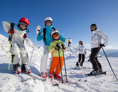 Family Ski advice for the French Alps