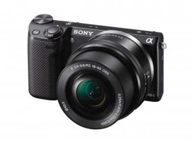 compact camera from sony