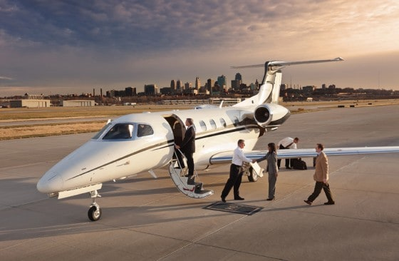 how to hire a private jet