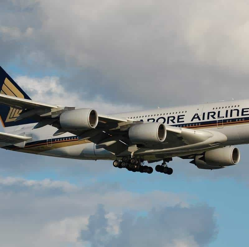 SQ308 review - Singapore Airlines SQ308 Changi to London