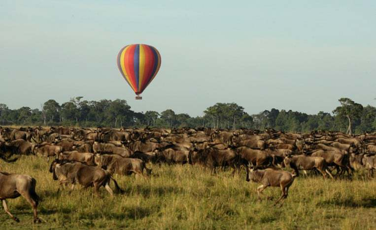Hot air balloons africa