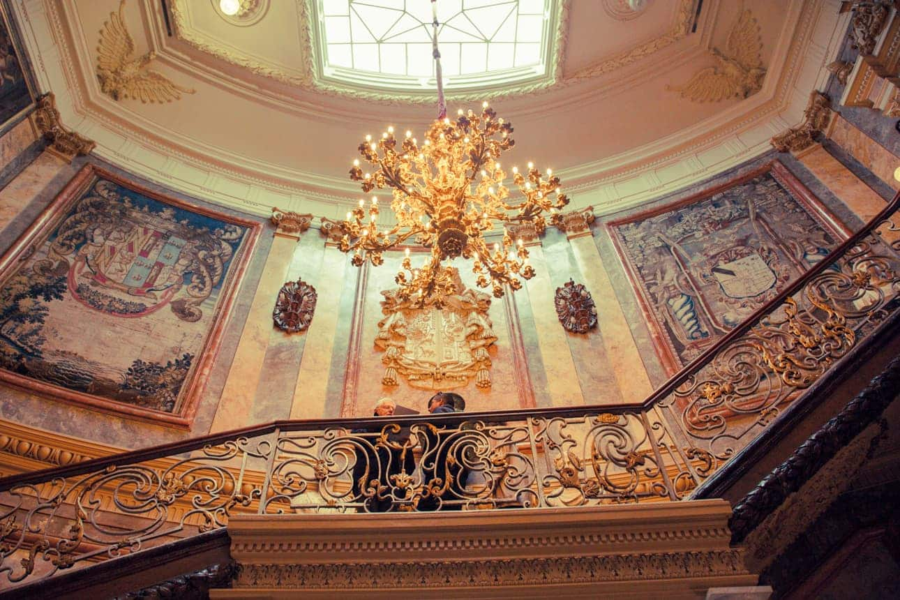 Staircase in Museo Cerralbo