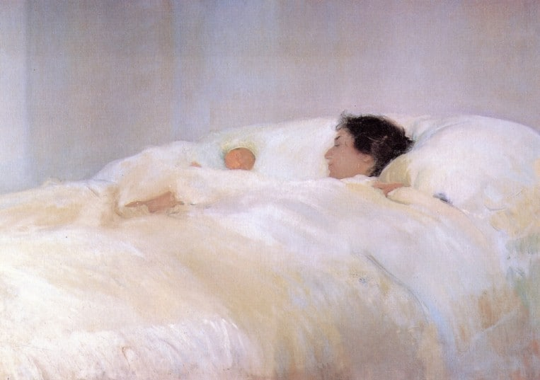 Mother by Sorolla