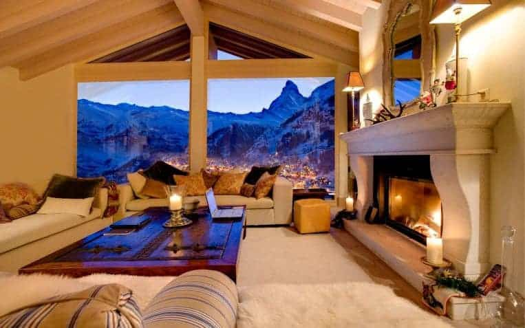 Luxury ski holidays in Switzerland
