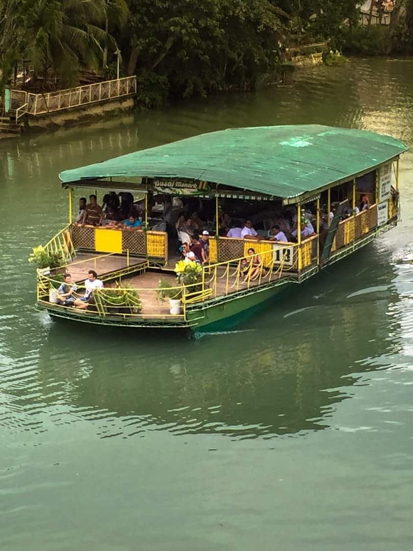 Riverboat tours
