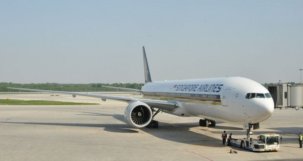 Singapore Airlines direct flights