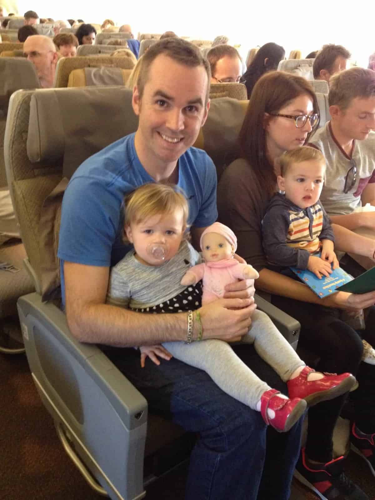Travelling with a baby on Singapore Airlines
