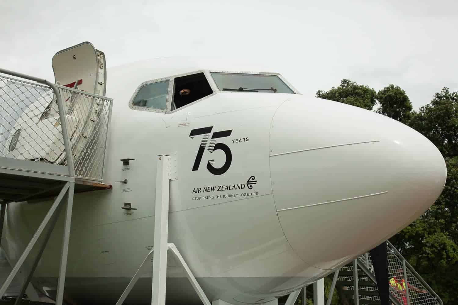 75 years of Air New Zealand