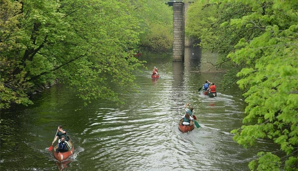 Paddle over Bronx River