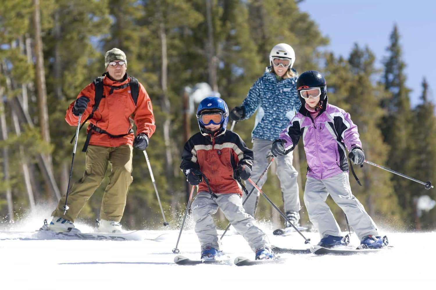 advice for Family skiing in the alps