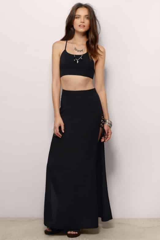 Maxi dresses for vacations