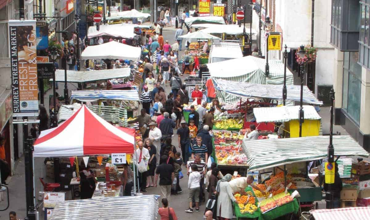 Eat cheap in London at markets