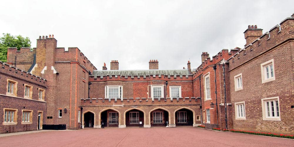 St James Palace in Pall Mall