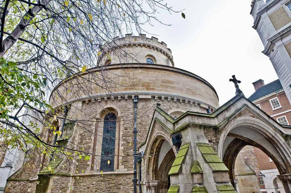 Temple Church located at London
