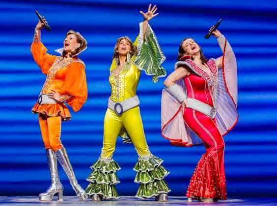 Mamma Mia 2018 west end