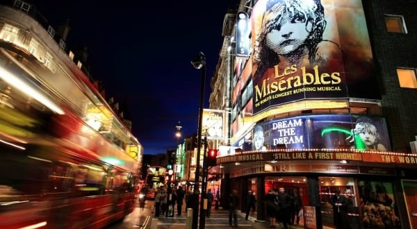 london theatre bucket list