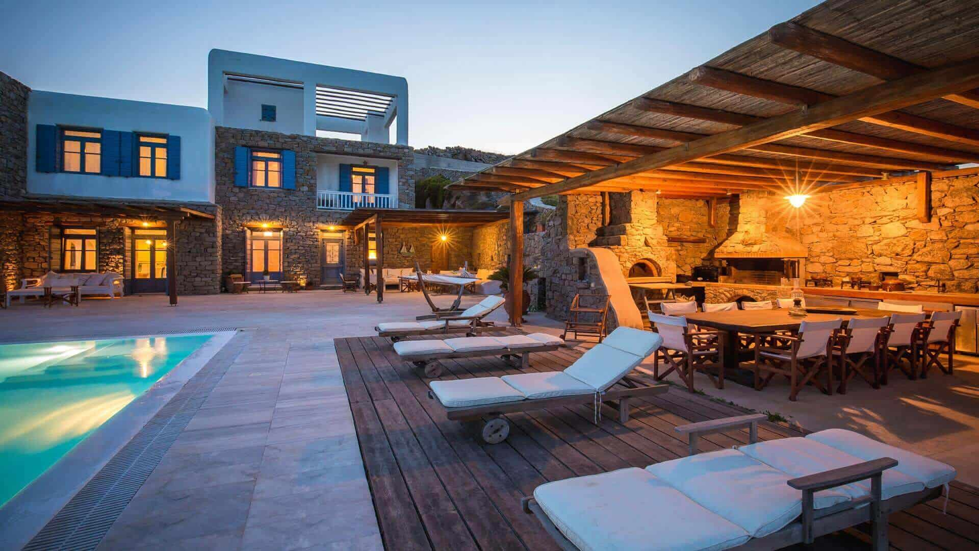 villas to rent in mykonos